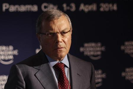 WPP Chief Executive Martin Sorrell poses for a photo during an interview with Thomson Reuters at the World Economic Forum on Latin America in Panama City