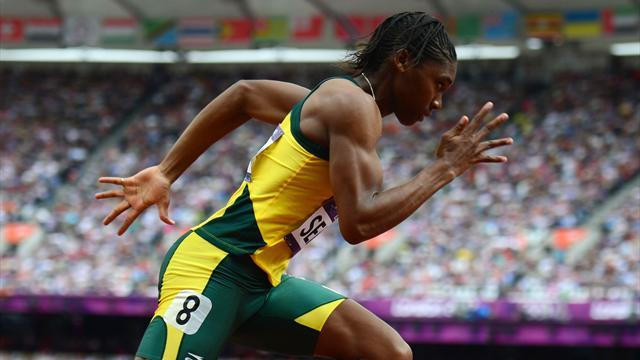 Olympic Games - Semenya denies trying not to win Olympic title
