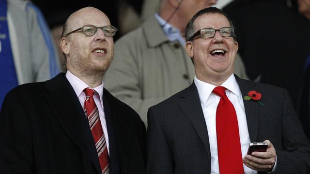 Premier League - United debt falls below £400m for first time in Glazer era