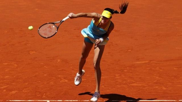 French Open - Ivanovic struggles past Martic to reach Paris round two