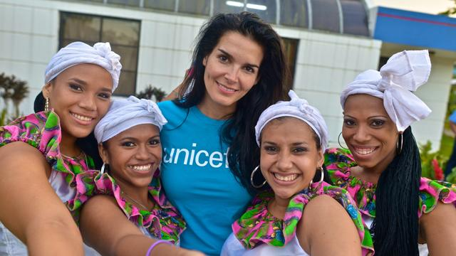 "Angie Harmon on being a UNICEF ambassador, ""Rizzoli & Isles"""