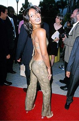 "Premiere: Tamala Jones auditions for ""Booty Call 2: Electric Boogaloo"" at the Hollywood premiere of Paramount's The Original Kings of Comedy - 8/10/2000"