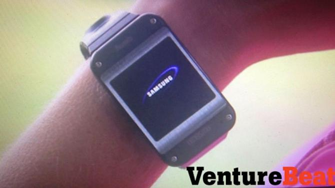 Purported Photos of Samsung Galaxy Gear Smartwatch Leak Ahead of Launch