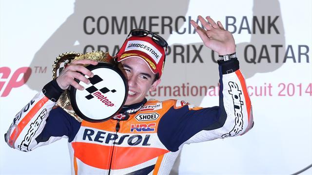 Motorcycling - Crashes shook confidence - Marquez