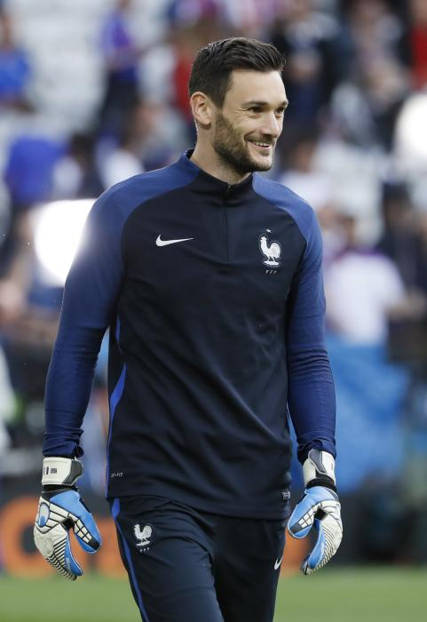 France's Hugo Lloris before the game