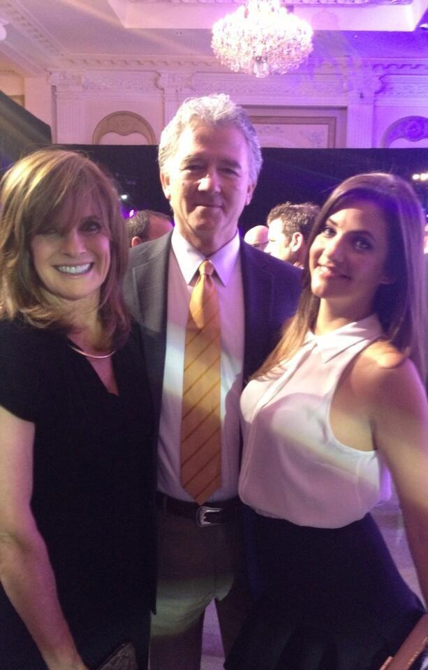 Linda Gray, Patrick Duffy and Julie Gonzalo