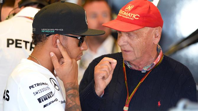 Formula 1 - 'Alarm bells' ringing at Mercedes - Lauda