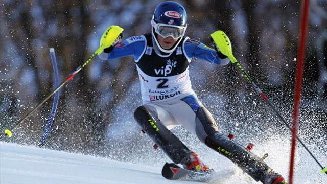 Alpine Skiing - Shiffrin crowned in Zagreb slalom