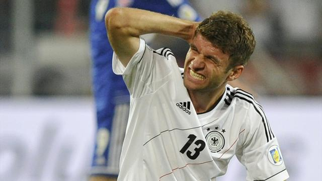 International friendlies - Germany rescue Paraguay draw after defensive blunders