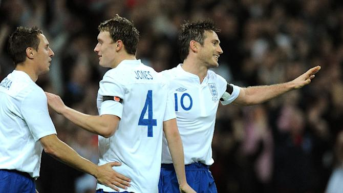 Frank Lampard (right)