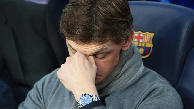 Champions League - Vilanova: Messi was not injured