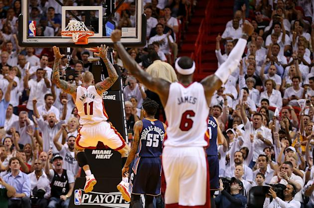 Charlotte Bobcats v Miami Heat - Game Two