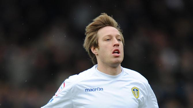 Luciano Becchio was on the scoresheet for Leeds