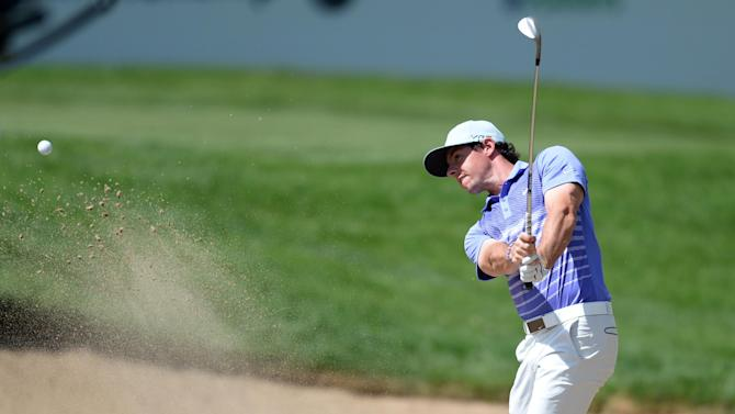 Golf - McIlroy shares lead at weather-hit BMW Championship