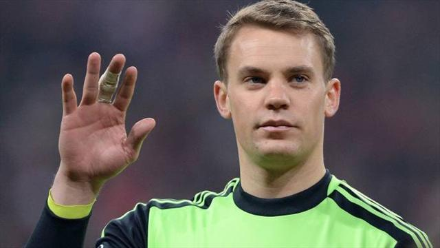 Bundesliga - Bayern's Neuer expects to be fit for Real sem