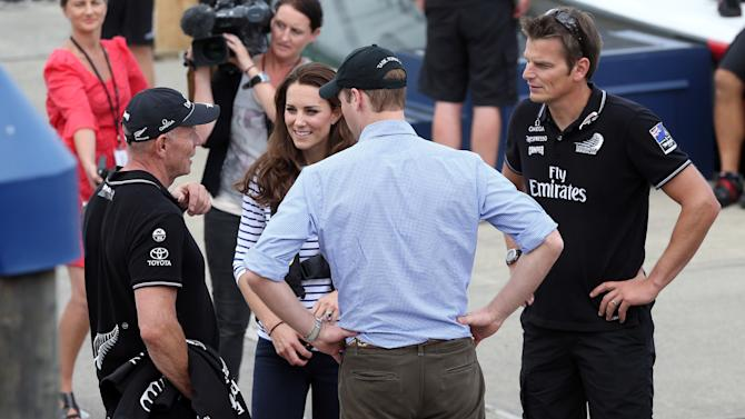 The Duke And Duchess Of Cambridge Tour Australia And New Zealand - Day 5