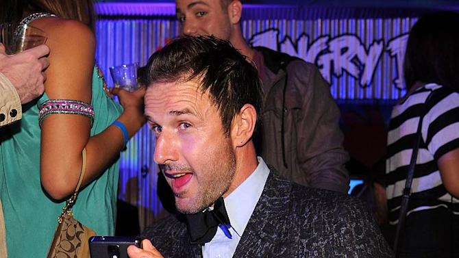 David Arquette Samsung Party