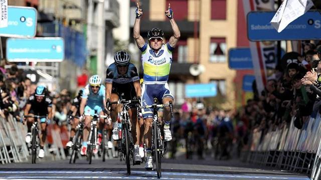 Cycling - Gerrans claims Basque opener in manic sprint