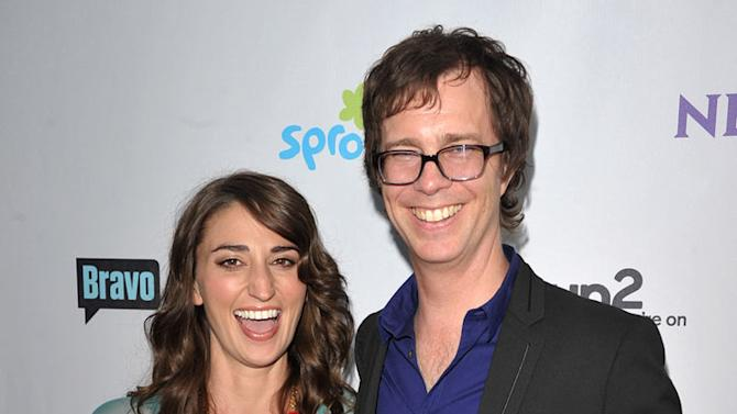 """Sarah Bareilles and Ben Folds of """"The Sing-Off"""" attend the NBC Universal Summer TCA 2011 All-Star Party at the SLS Hotel on August 1, 2011 in Los Angeles, California."""