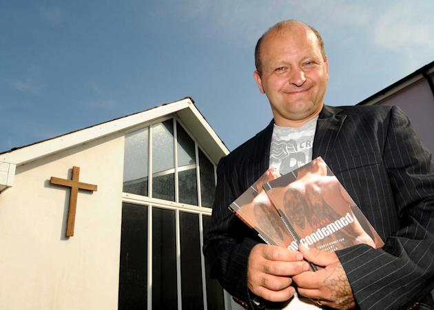 Mark Rowan outside of the Braunton Coastal Community Church, Devon