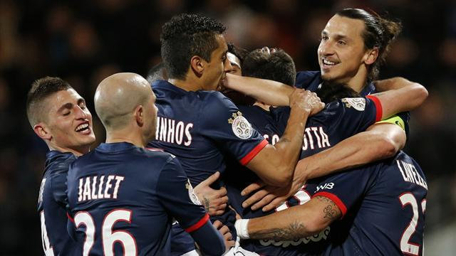 Ligue 1 - Motta lands knockout blow as PSG secure eighth win in row
