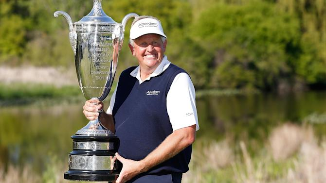 Golf - Montgomerie breaks American drought with Senior PGA win