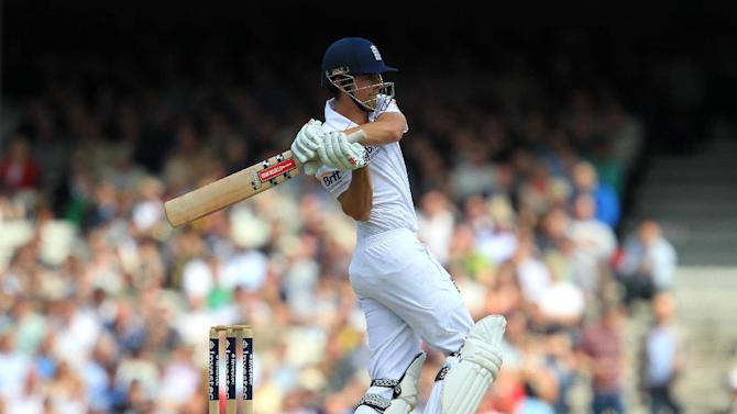 Alastair Cook became the only batsman to make a hundred in his first three Tests as captain