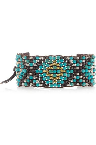 Chan Luu friendship bracelet, $345, at Net-a-Porter