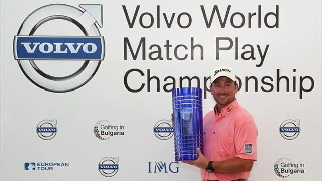 Golf - McDowell tames Thongchai to win first World Match Play