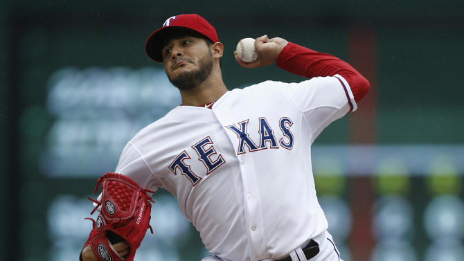 Rangers another 1-0 win to clinch Astros series