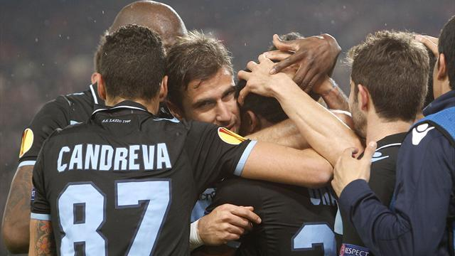 Europa League - Lazio assume control in Stuttgart