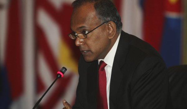 Law Minister K. Shanmugam said there is no confusion over the powers of the president as it is clearly stated in the Constitution. (AP photo)