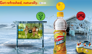 Lipton Ice Tea Connects With Youth Through 'Get Refreshed Naturally' image Get Refreshed naturally Lipton Ice Tea