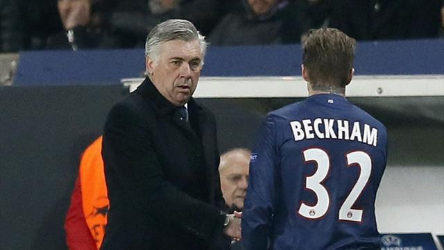 Champions League - PSG must sustain high tempo at Nou Camp, says Ancelotti