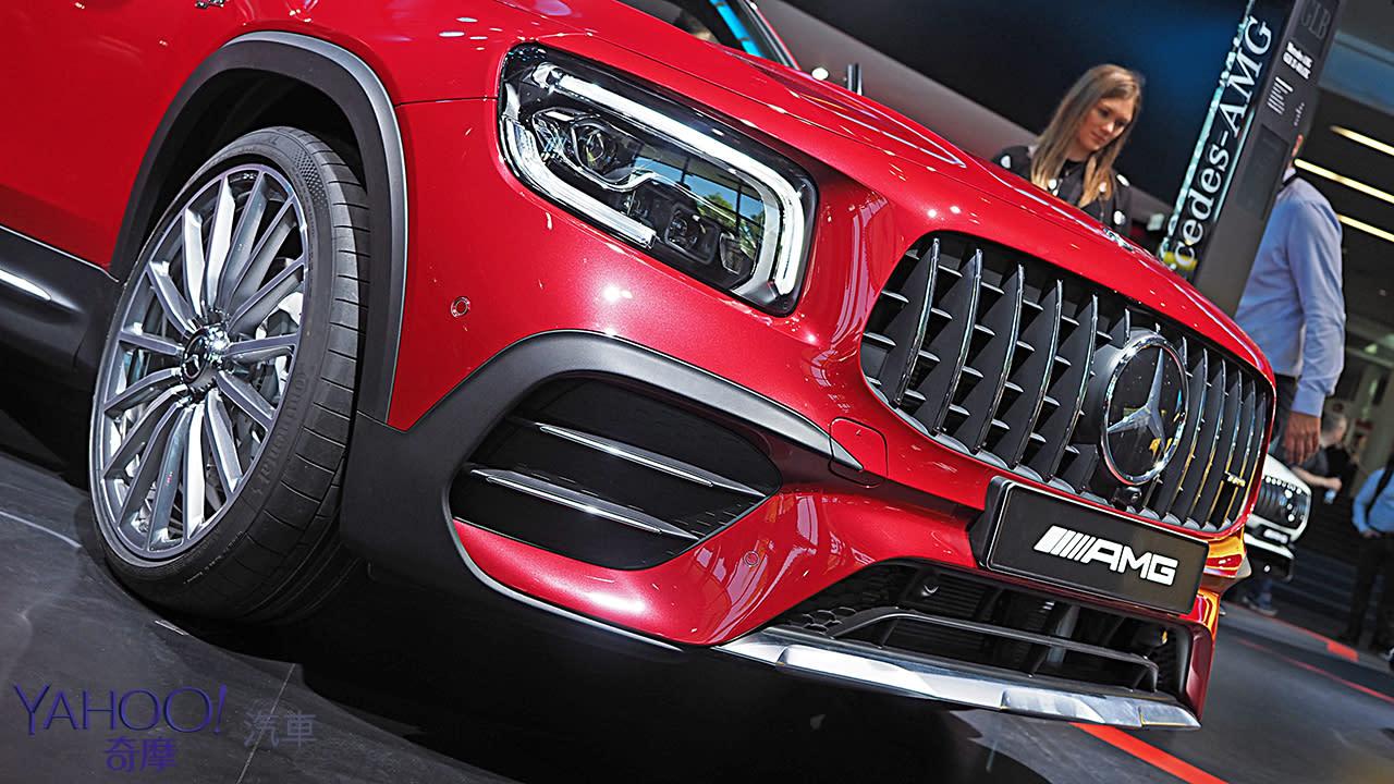 【新車圖輯】無法定義的空間款三芒星!Mercedes-Benz GLB車系展現星世代乘坐風