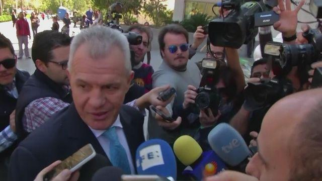 Aguirre in court over match-fixing allegations