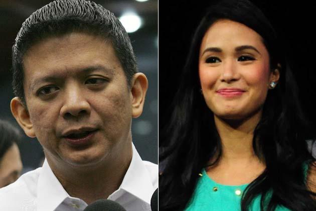 Chiz Escudero and Heart Evangelista (NPPA Images)