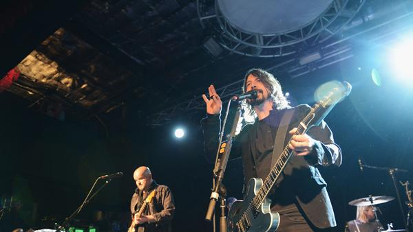 Dave Grohl's Sound City Players Book Sole New York Show