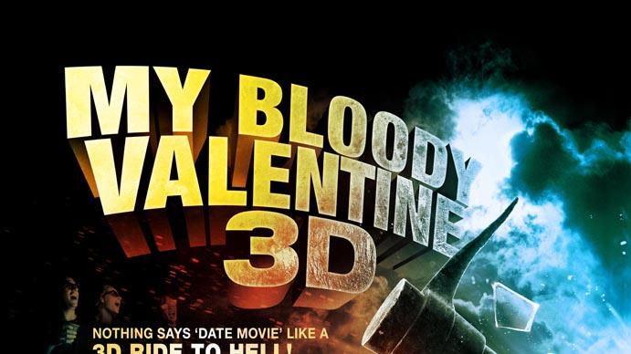 My Bloody Valentine 3-D Poster Production Stills Lionsgate 2009