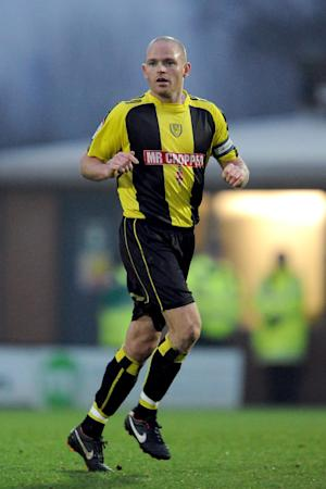 John McGrath could make his return to action for Burton this weekend
