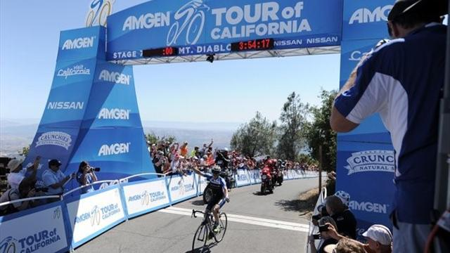 Cycling - König wins as Van Garderen keeps lead at Tour of California