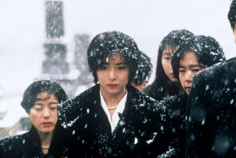 <p>中山美穗在《情書》中一人分飾兩角,其中一角為藤井樹的未婚妻。 </p>