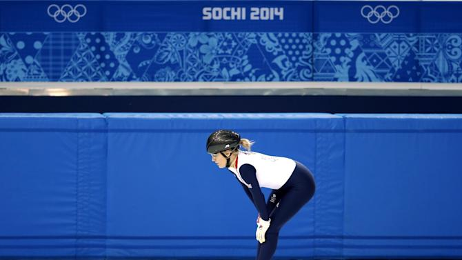 Sochi Winter Olympics 2014: Elise Christie Disqualified After Second Place Finish in Short Speed Final
