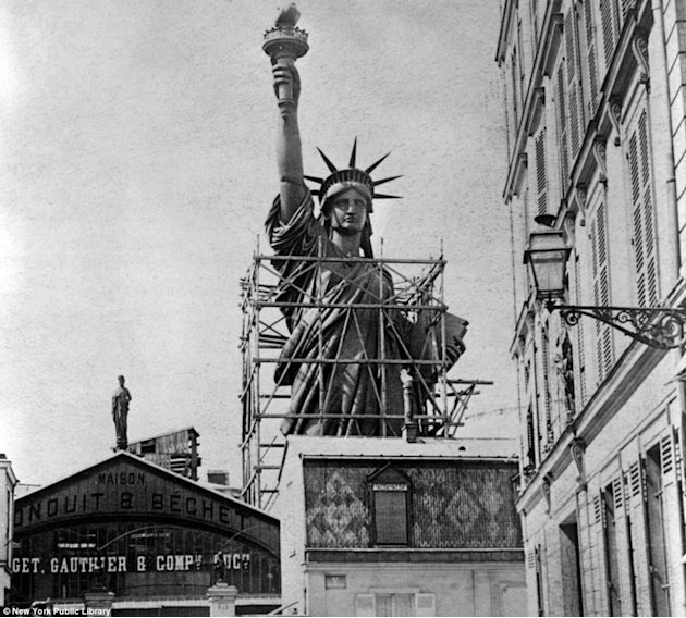 Arvind 39 S Statue Of Liberty Under Construction