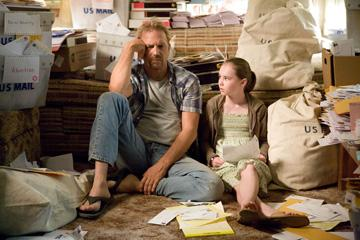 Kevin Costner and Madeline Carroll in Walt Disney Pictures' Swing Vote