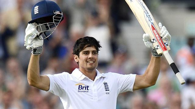 Cricket - Cook breaks more records as England take control in Kolkata