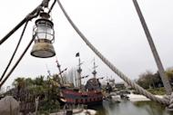 The Pirates Bay at the Disneyland park in Chessy, outside Paris. French theme parks in general have done well amid Europe's debt crisis, offering a fairly low-cost escape for families, and Disney reported a record 15.7 million visitors in its fiscal year that ended on September 30, 2011