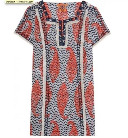 Tory Burch Liseth Tunic, $249, at My Theresa