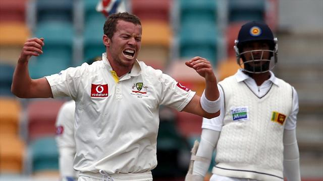 Cricket - Siddle: Revolving pace door no problem for Australia