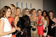 Sofia Coppola, Gwyneth Paltrow, Kate Hudson, Diane Keaton, Adam Shankman, Hilary Swank, Diane Kruger, Kerry Washington and Jessica Chastain are seen at ELLE's 17th Annual Women in Hollywood Tribute at The Four Seasons Hotel in Beverly Hills, California on October 18, 2010 -- Getty Premium